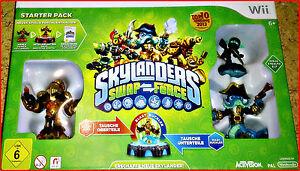Wii-Game-Skylanders-Swap-Force-6-Figuren-portale