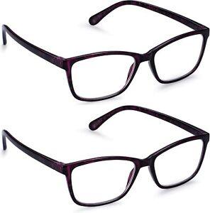 Magnifying Eye Glasses Reading Glasses 2.5 Women Men Magnifying Eyeglasses