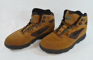 the latest c0c39 b2a37 Image is loading Vintage-Nike-Air-ACG-Hiking-Boots-Brown-Leather-