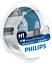 Philips-12258WHVSM-WhiteVision-Bombilla-para-Faros-Delanteros-con-Efecto-Xenon-H miniatura 1