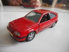 Hand built model Opel Kadett GSI in Red on 1:43