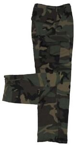 Us-Army-Wcp-Nyco-Woodland-Camouflage-Marsoc-Pantalon-Bdu-Sr-Small-Reguliere