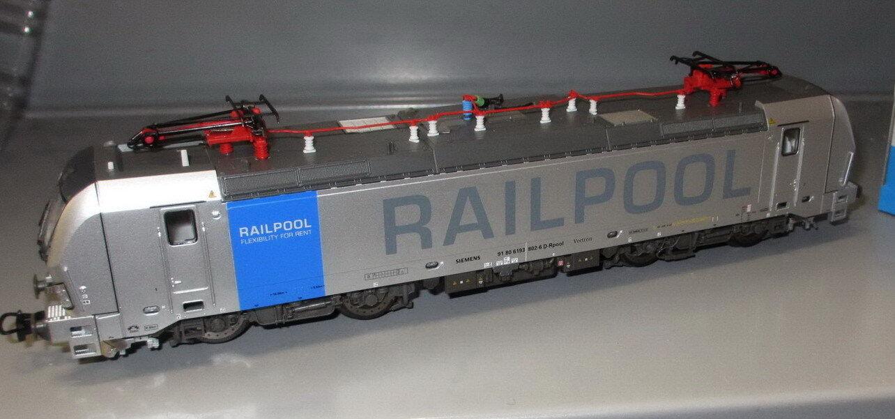 PIKO h0 59970 E-Lok BR 193 Vectron Railpool, epoca vi _ NUOVO
