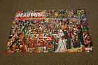 The Wedding of Deadpool Folded Poster Marvel Promotional Item 24x36