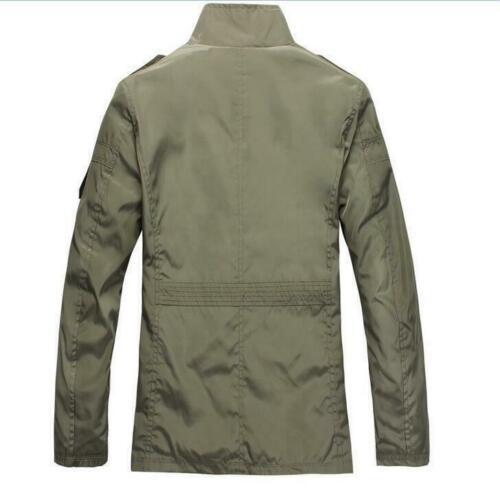 Outwear hombre primavera abrigo abrigo informal más Siz para moda otoño 2019 chaqueta hombre g8RpAq