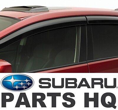 USED Subaru Impreza Sedan 2015-2017 WRX STI Side Window Deflectors E3610FJ860