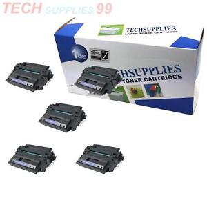 for hp laserjet p3015 5 pack ce255x 55x toner cartridge. Black Bedroom Furniture Sets. Home Design Ideas