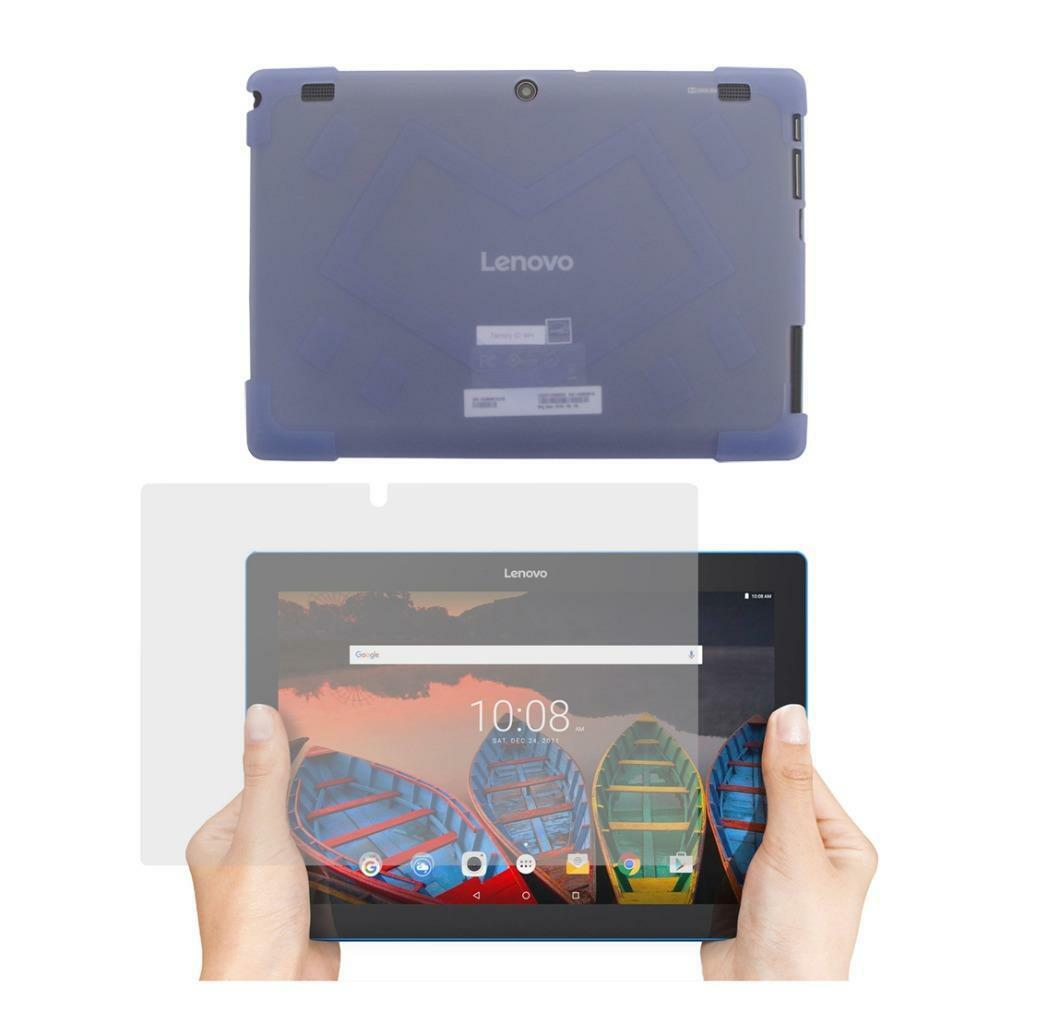 new concept 591ae 6d06c TPU Case + Screen Protector for Lenovo Tab 10.1