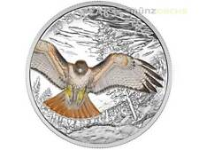 20 $ Dollar Red Tailed Hawk Rotschwanzbussard Kanada Canada 2016 PP 1 oz Silber