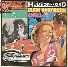 Hudson Ford - Burn Baby Burn / Angels (Vinyl-Single 1974) !!!