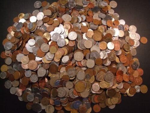 World Coins ~ 3 lbs ~ Good Mix ~