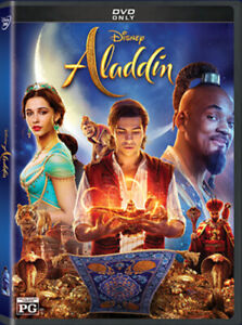 Aladdin-Will-Smith-2019-DVD-Live-Action-Brand-New-amp-Sealed-with-Free-Shipping