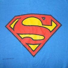 VTG 80S SUPERMAN T-SHIRT XL ORIGINAL DC COMICS TEE GRAPHITTI comic book