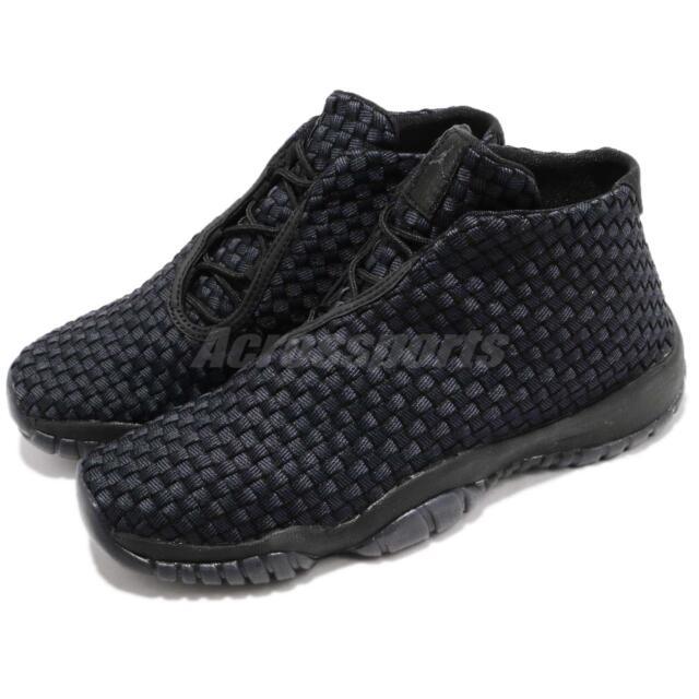 457dd0a939 Nike Air Jordan Future BG Black Anthracite Kid Youth Women Shoes 656504-001