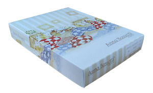 Quadrati di garza neonato 6 pezzi, 68 x 68 in 100% Cotone multiuso ANNA BASSETTI