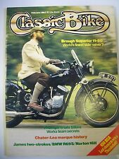 Classic Bike Magazine. No. 49. February, 1984. Chater-Lea marque history BMWR69S