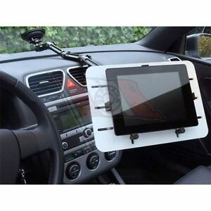 kfz auto tablet halterung mit saugnapf auf scheibe f r ipad galaxy tab ebay. Black Bedroom Furniture Sets. Home Design Ideas