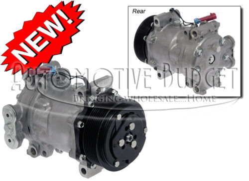 4351 4466 NEW A//C Compressor w//Clutch for Sanden 4342 4850