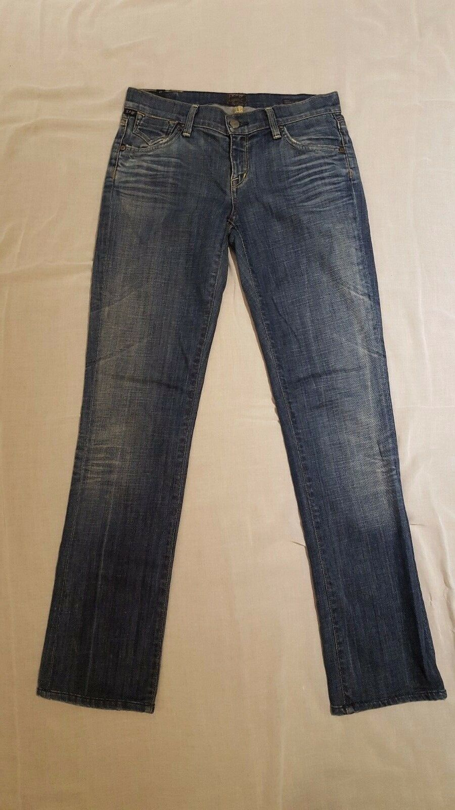 Citizens of Humanity Ava Straight Leg Stretch Jeans in Legend Size 27 X 30