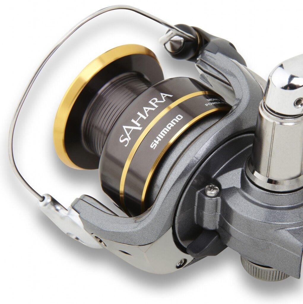 Shimano Sahara Fishing Spinning Reel 500 1000 2500 3000  4000 NEW IN BOX  gorgeous