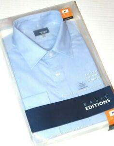 Vintage Blue Basic Editions Dress Shirt Size L