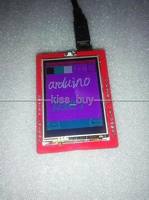 "2.4"" TFT LCD Display Module + Touch Panel + SD Socket For 3.3v 5v Arduino uno R3"