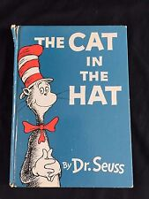 VINTAGE 1957 1ST EDITION THE CAT IN THE HAT DR SEUSS VERY GOOD! CLEAN HC BOOK