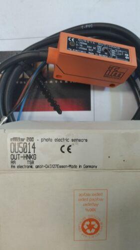 IFM  OU5014  PHOTO ELECTRIC SENSOR