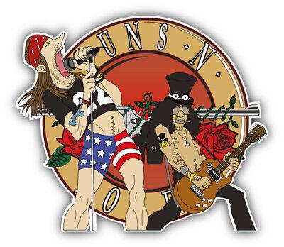 Guns N Roses Music Car Bumper Sticker Decal 3/'/' 5/'/' or 6/'/'