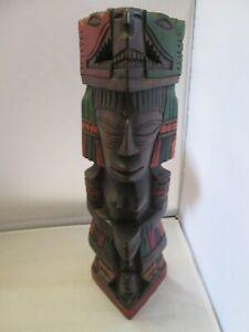 Statuette-en-bois-vieux-mexicain-sculpte-a-la-main-art-populaire-design-40cm