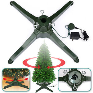 Rotating Christmas Tree Stand.Details About Rotating Tree Stand For 7 5ft Artificial Christmas Tree Revolving Tree Base Only