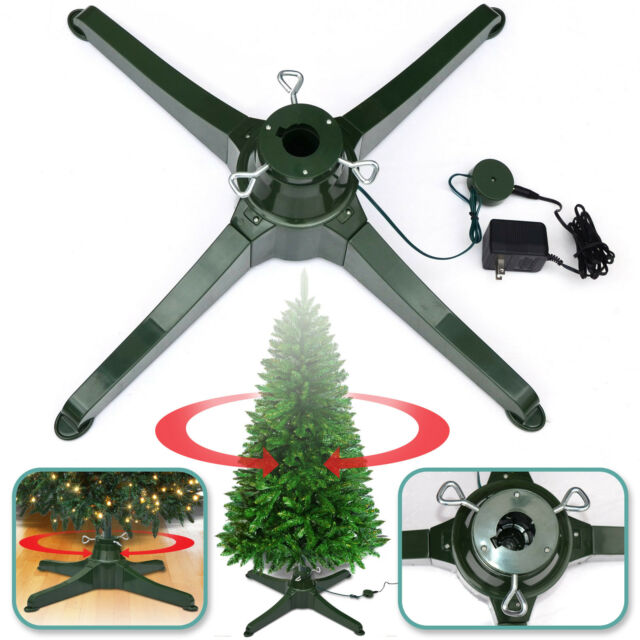 Artificial Christmas Tree Stand.Rotating Tree Stand For 7 5ft Artificial Christmas Tree Revolving Tree Base Only