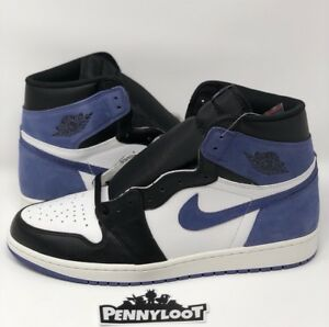 Nike Air Jordan 1 High OG Blue Moon Size 13 Bred Toe Royal Shadow ... 888f08912
