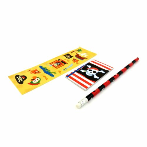 Childrens Pirate Party Bags Pencil Note Book Week Kids Party Bag Fillers Gift