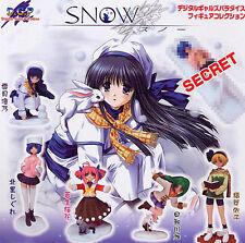Millennium DGP Digital Gals Paradise Snow Girl Gashapon Full Set 6 pcs. Figure