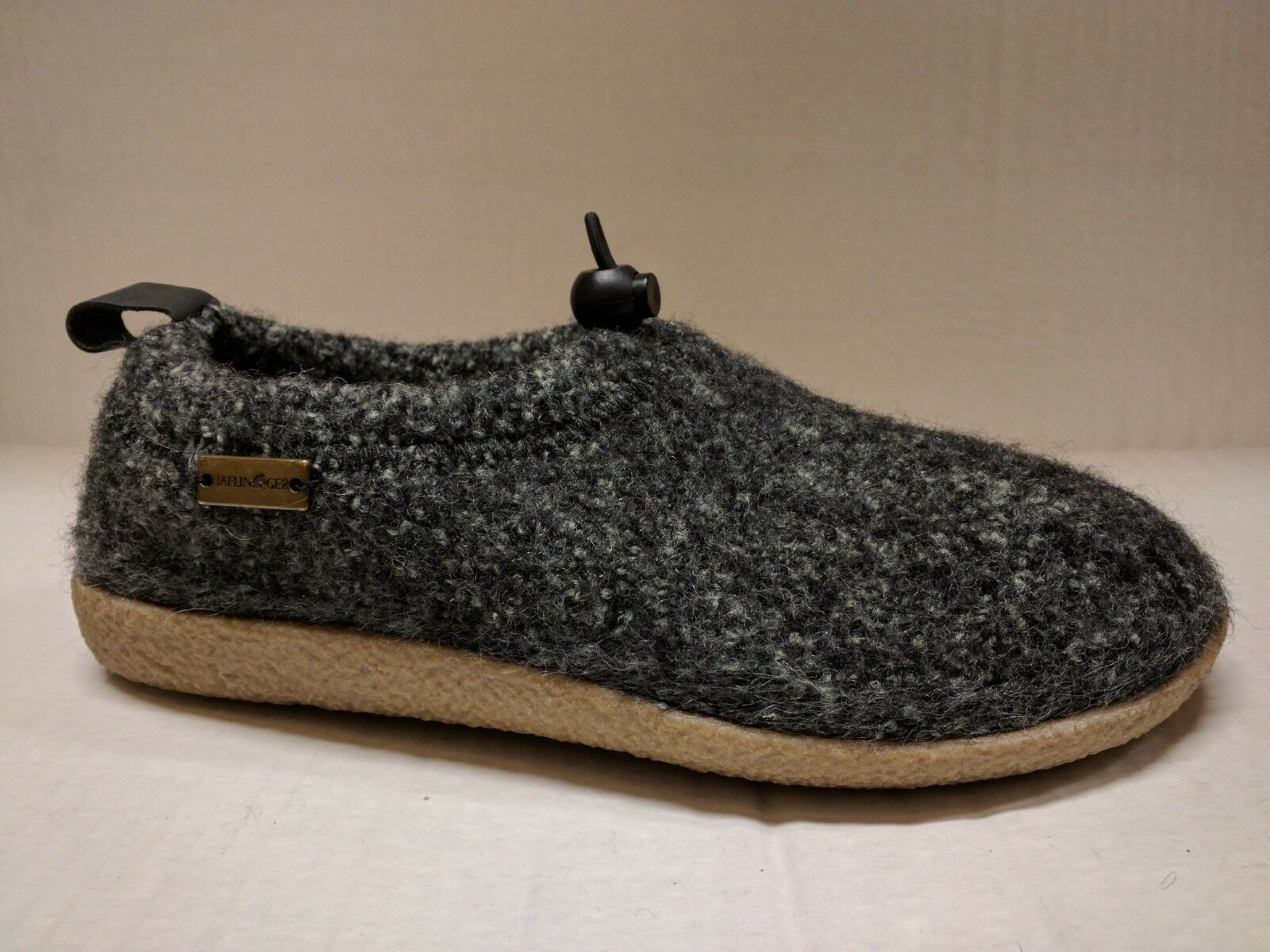 HAFLINGER UNISEX GUIDO INDOOR OUTDOOR WOOL SLIPPER