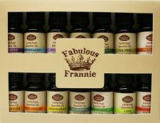 Essential Oil 10 ml 100% Pure Grade Beginner Set US FREE SHIP Fabulous Frannie