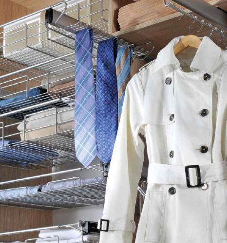 Ausziehbarer Krawattenhalter Krawattenauszug Hänger für Krawatten Gürtelhalter