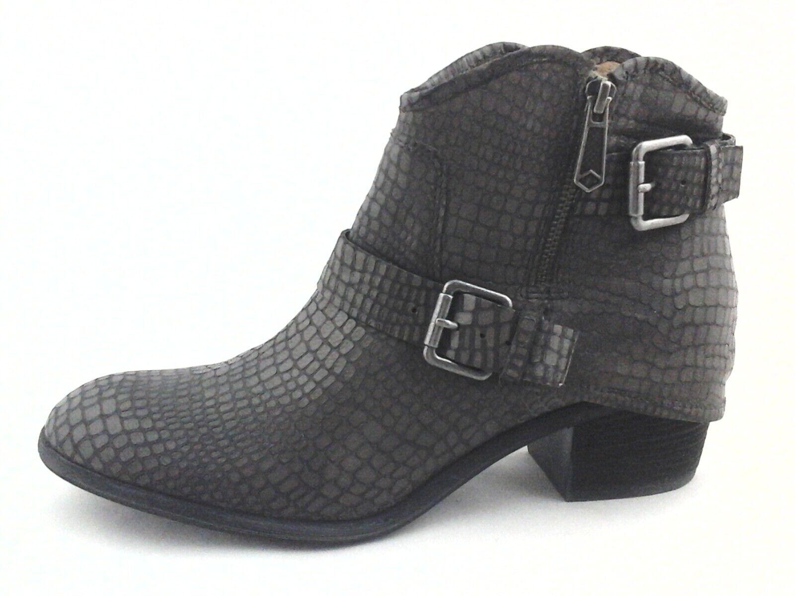 Donald J. Pliner Western Couture Dalis Tobillo botas gris Python US 10