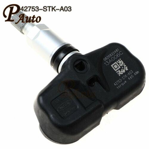 4X42753-STK-A03 TPMS SENSOR 315 MHz 42753STKA04 For Acura MDX Honda Pilot 07-15