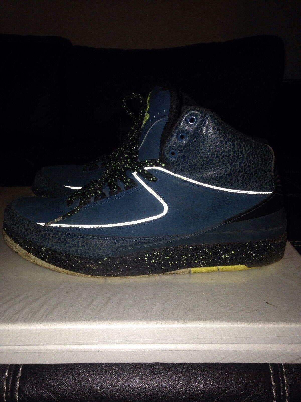 Nike Air Jordan 2 II Retro Nightshade Used Comfortable Cheap women's shoes women's shoes