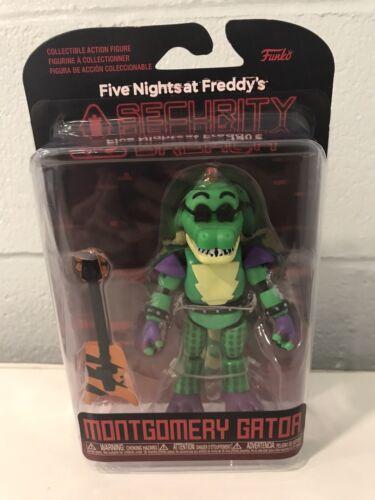 Funko CINQ NIGHTS AT FREDDY/'S Security Breach Montgomery Gator Action Figure
