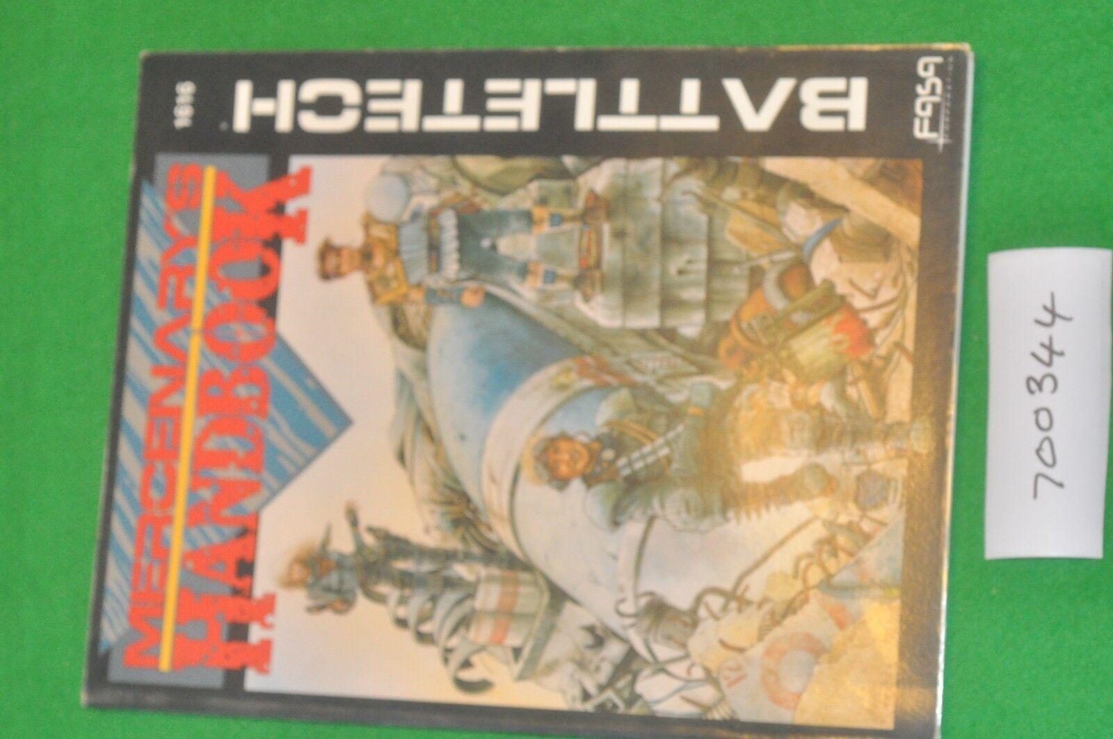 Battletech mercenary handbook book (700344)