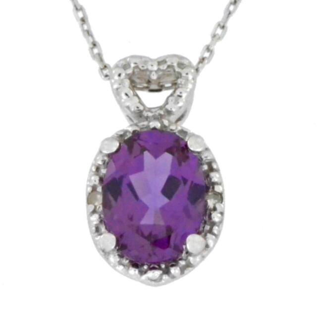 1.5 Carat Emerald /& Diamond Oval Heart Pendant .925 Sterling Silver