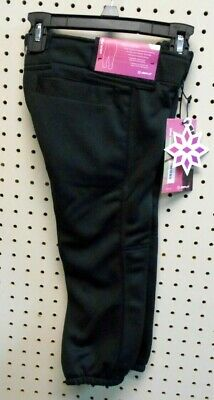Rip-It Women/'s 4 Way Stretch Softball Pants Classic Black Softball Pants