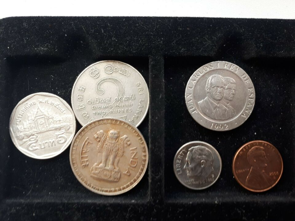 Euro, mønter