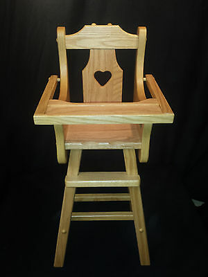 Oak Doll Stroller Amish Handmade Wood Furniture Toddler Kids Toy Play Room