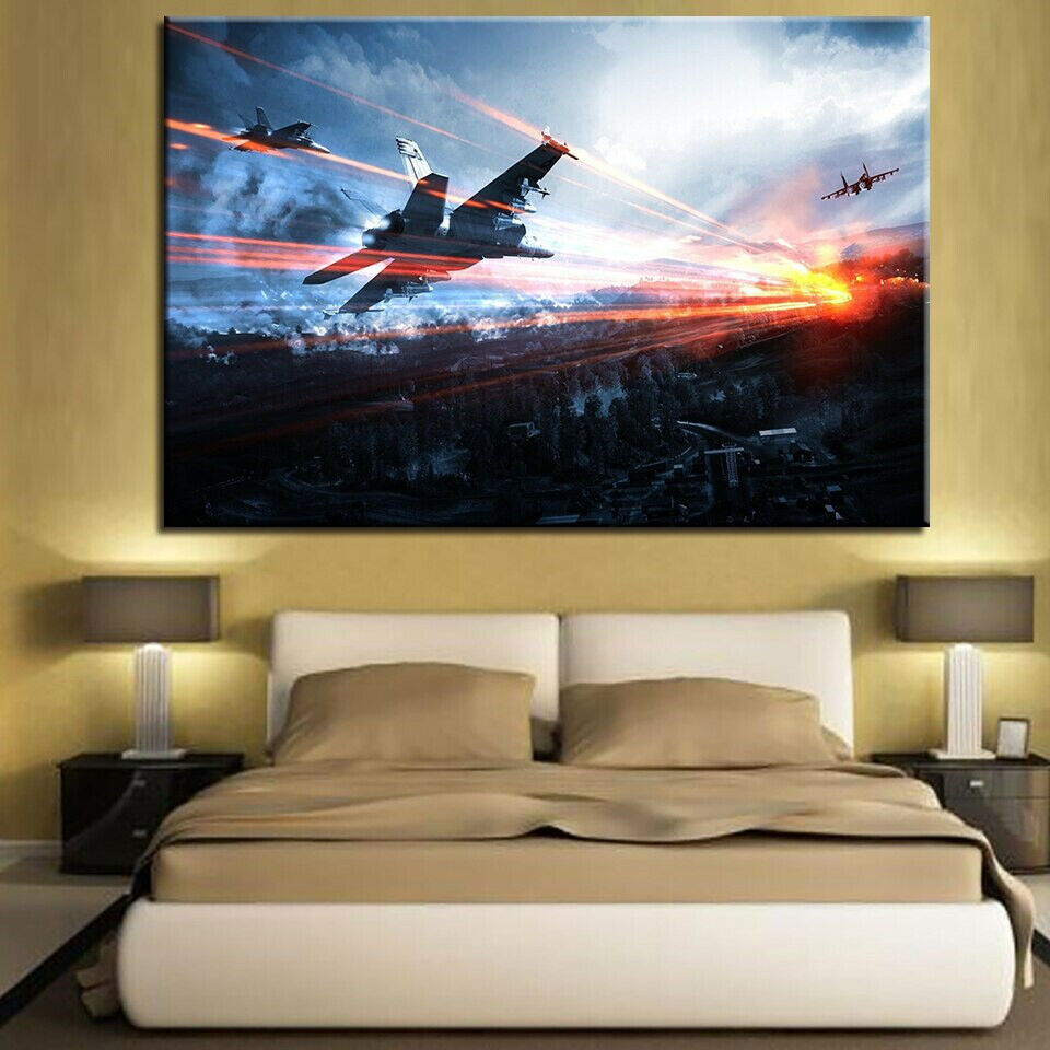 1 Pieces Movie Star Wars Modern Kids Room Home Decor  Wall Art POP ART