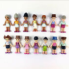 Random 10pcs LEGO Friends Fashion Girls Mini figure part Toy gift HA165