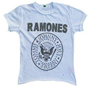 Maglietta Vip Löcher Go Rock Ramones G Ho xs Vintage Amplificato Hey Let`s Star ZnH0nvq